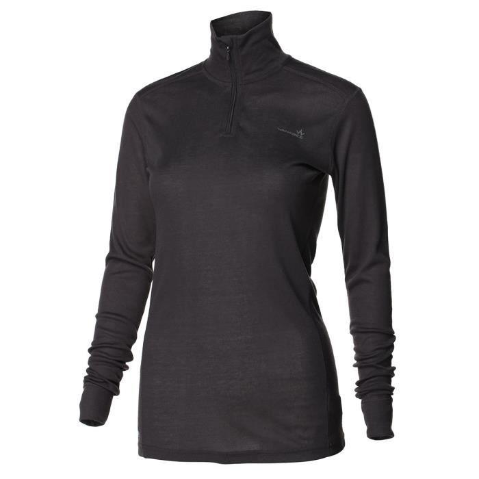 1ER PRIX Sous-vêtement de randonnée Ld Prima WarZip - Femme - Carbone