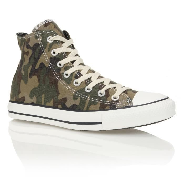 converse chuck taylor canvas homme homme vert camouflage achat vente converse chuck taylor. Black Bedroom Furniture Sets. Home Design Ideas