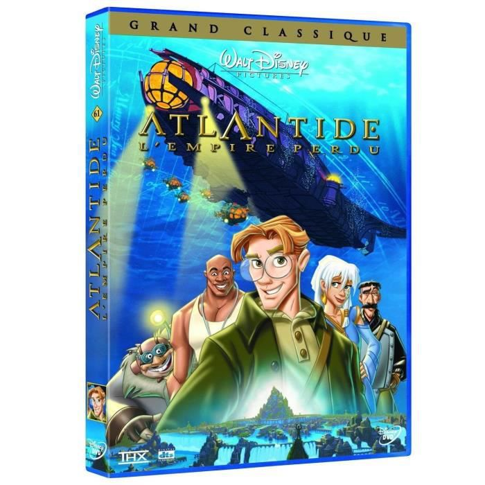DVD FILM DVD Atlantide : l'empire perdu