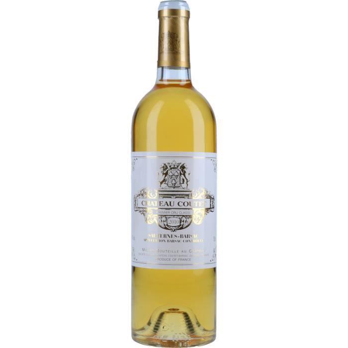 Vin Blanc - Château Coutet 2010 - Bouteille 75cl