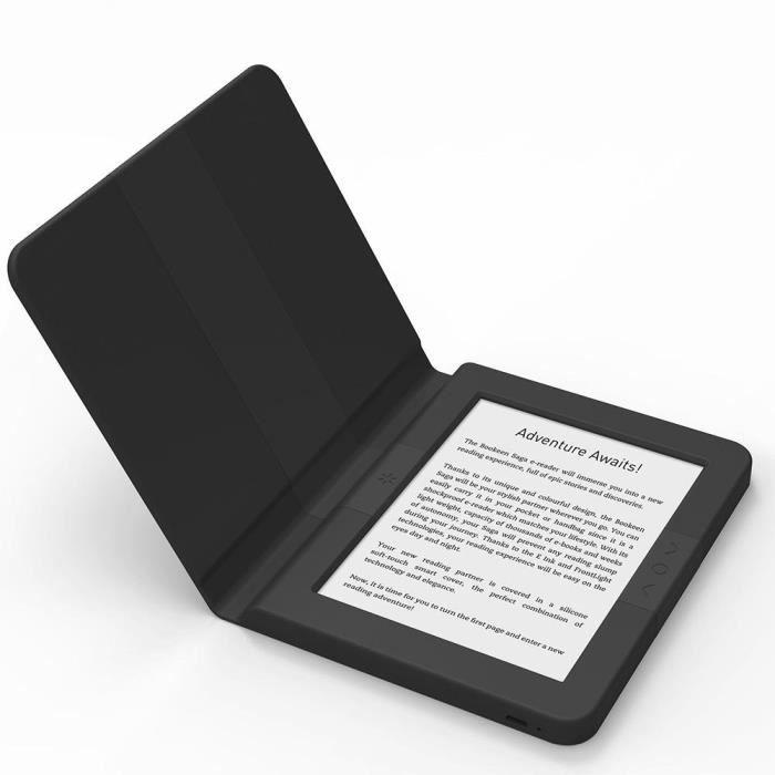 BOOKEEN Saga Écran Tactile 8 Go Wi-FI Noir Lecteur eBook