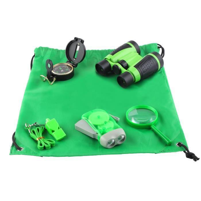 6PCS Outils d'aventure kit de survie pour enfants