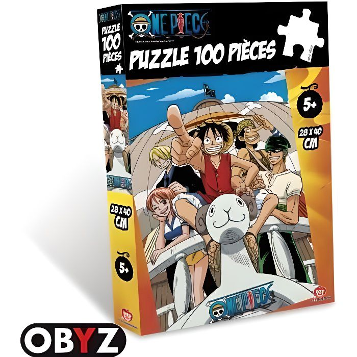 Puzzle One Piece 100 pièces Vogue Merry