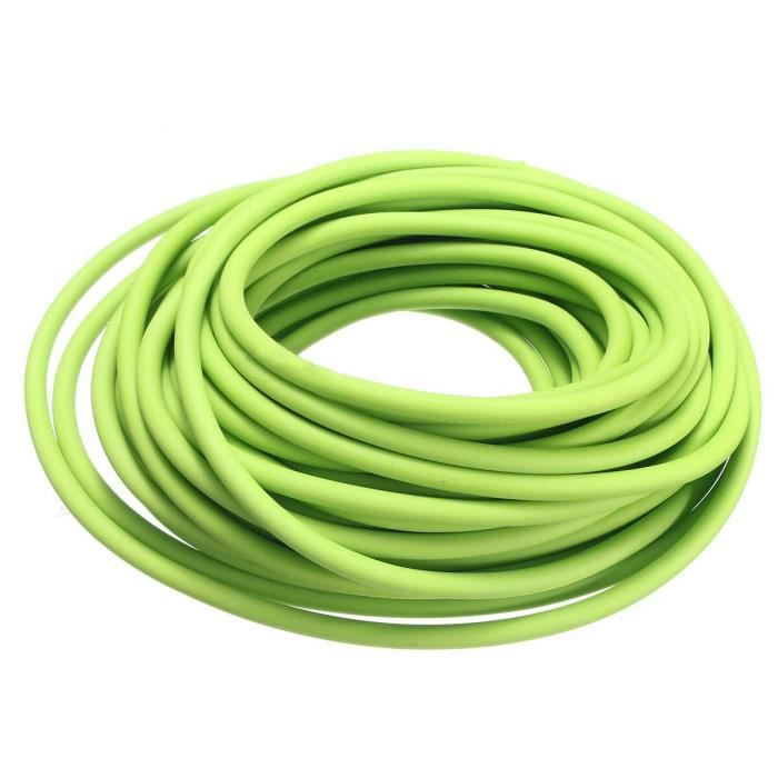 Élastique de fronde de catapulte de bande de résistance en caoutchouc d'exercice de tube, 2.5M - Modèle: green - HSJSTLDC02886