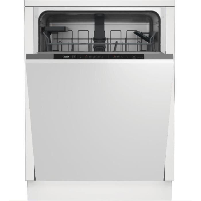 beko - lave-vaisselle 60cm 14c 46db a+ tout intégrable - kdin25311