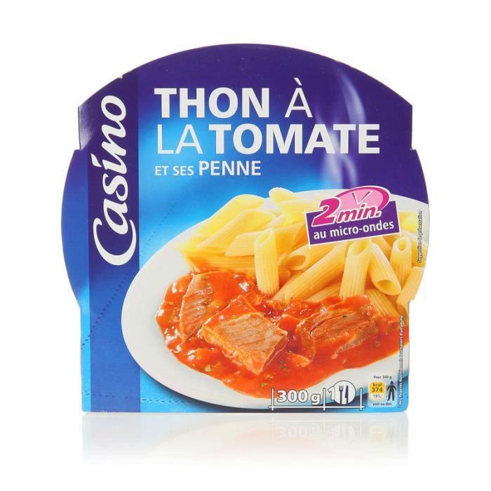 Thon sauce tomate et penne - 300 gr