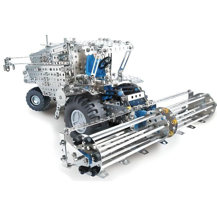 Eitech - Construction mécanique : Moissonneuse …