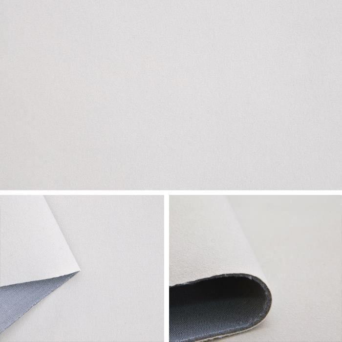Tissu velours couleur beige