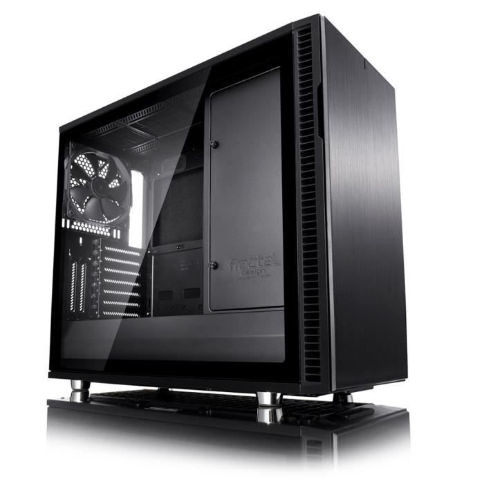 Fractal Design Define R6C Blackout Tempered Glass USB-C