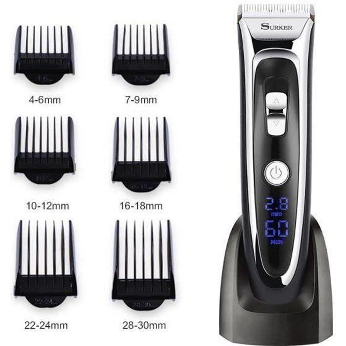 Tondeuse à cheveux rechargeable haute precision