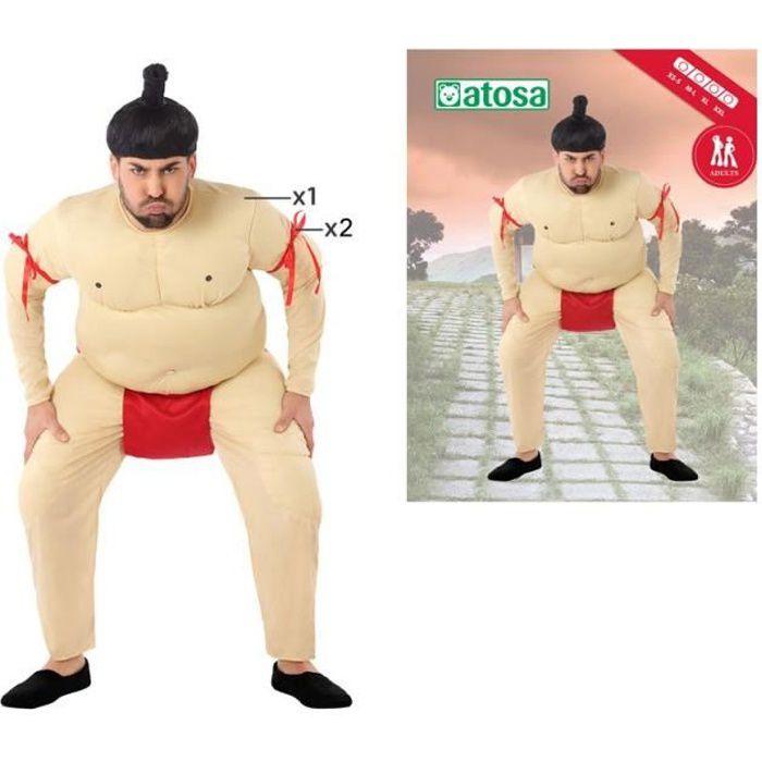 ATOSA Déguisement sumo - Homme - Beige