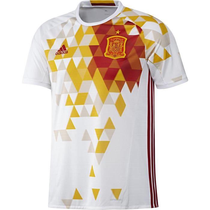 Maillot Espagne Extérieur officiel Adidas football