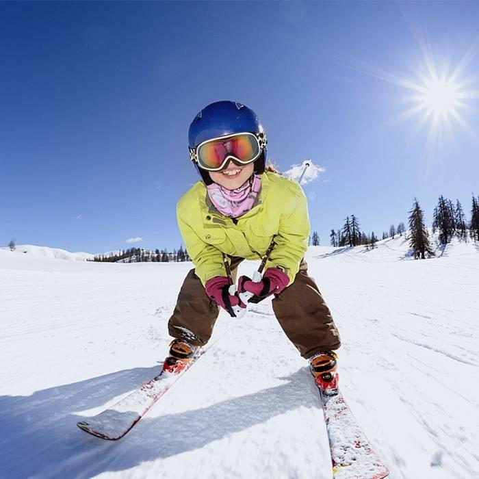 Professionnel Confortable Unisexe Lunettes de ski Lentille sans poussière P5005 pour les enfants en plein air
