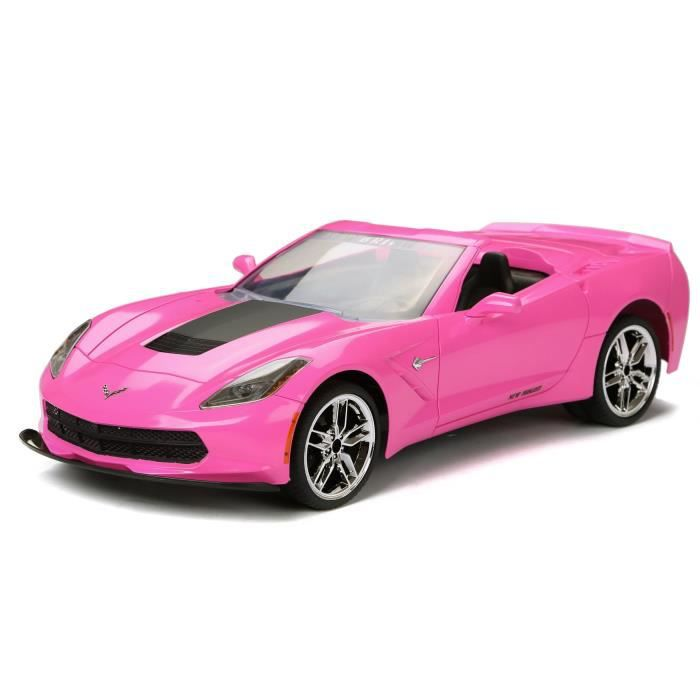 NEW BRIGHT - Corvette rose Voiture radiocommandée