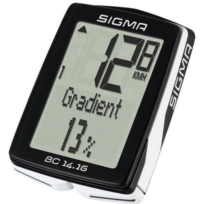 SIGMA compteur modèle BC 14.16 Altitude