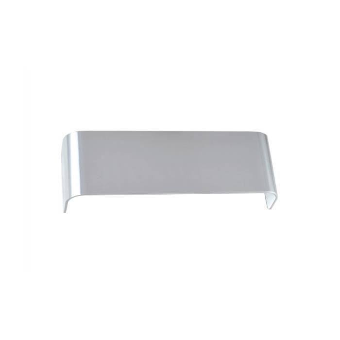 MANA, abat-jour 29 cm, aluminium, alu poli Aluminium Poli