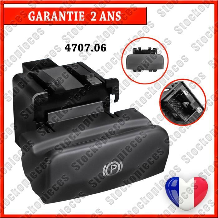 Commande de frein a main electrique compatible Peugeot 3008/5008 470706 4707.06