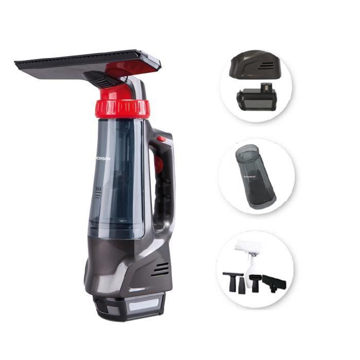 THOMSON THVC49163 - Aspirette multifonction - Fonction lave vitre - Fonction wet et dry - Capacité du bac 120ml - Puissance 30 watts