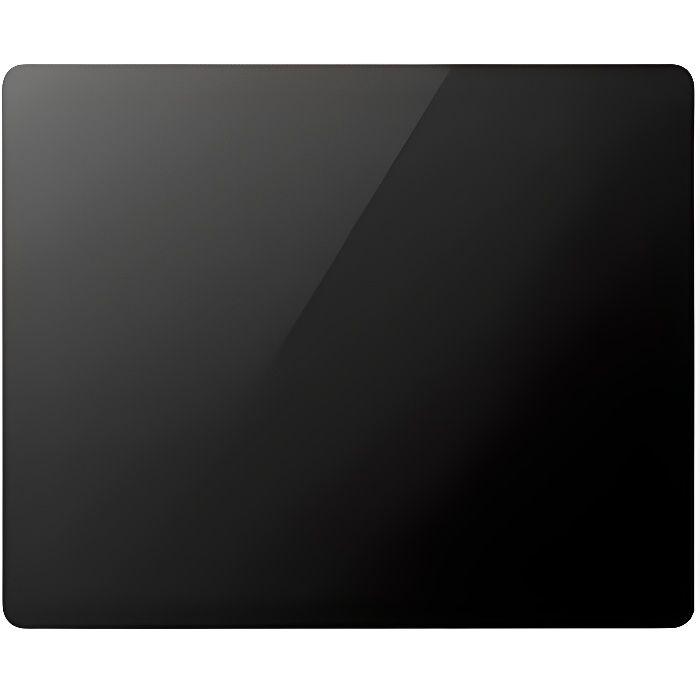 Radiateur à panneau rayonnant verre noir