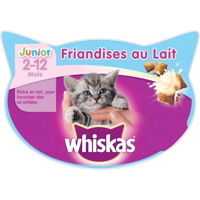 WHISKAS Friandises au lait - Pour chaton - 55 g
