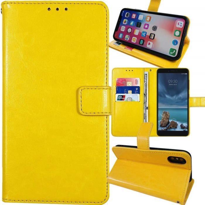 Coque iphone 11 apple jaune