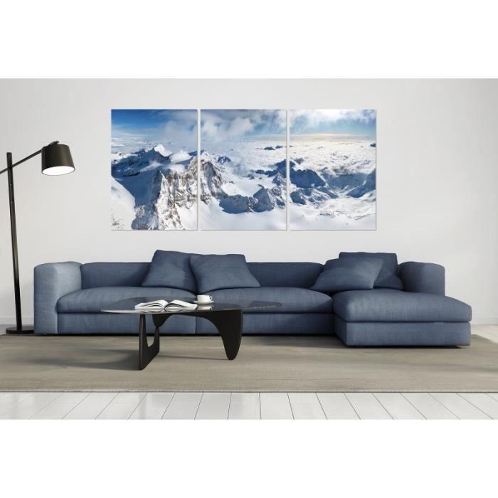D/éco Murale Qualit/é HD Scenolia Tableau Verre Acrylique d/éco /& Design Le LAC AUX Flamants Roses 50 x 50 cm