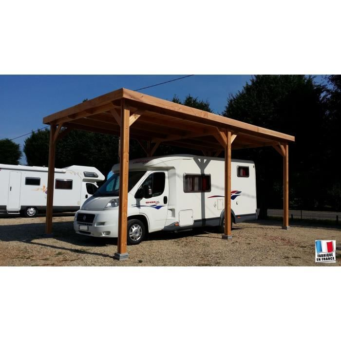 carport camping car douglas france toit plat achat. Black Bedroom Furniture Sets. Home Design Ideas