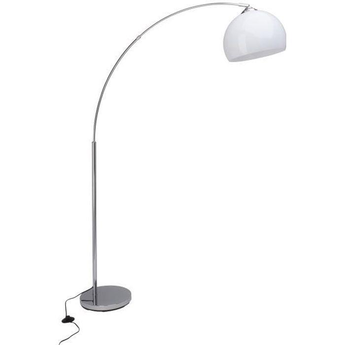 LAMPADAIRE BRILLIANT Lampadaire Vessa - Blanc