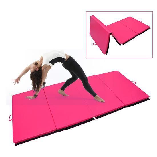 TAPIS DE SOL FITNESS Tapis de gymnastique pliable natte de gym matelas