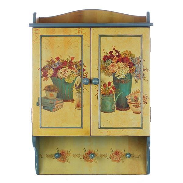 etag re petite armoire murale d corative avec porte. Black Bedroom Furniture Sets. Home Design Ideas
