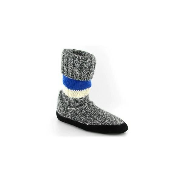 chaussons chaussettes homme taco gris achat vente chausson pantoufle cdiscount. Black Bedroom Furniture Sets. Home Design Ideas