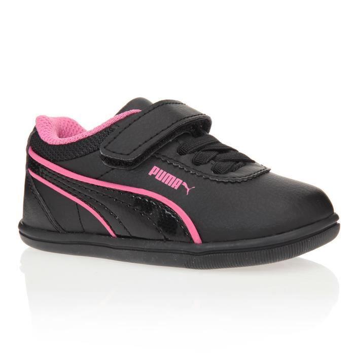 chaussure puma noire fille