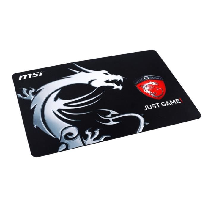 msi tapis de souris gamer pad just game - Tapis De Souris Gamer