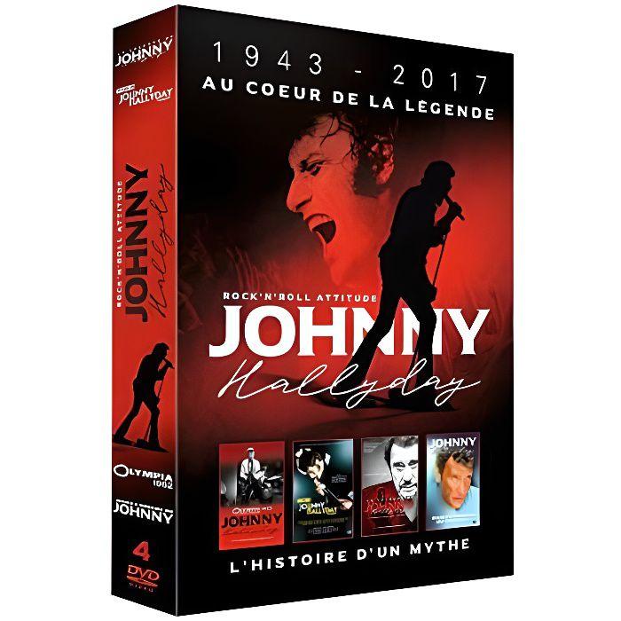 DVD DOCUMENTAIRE Johnny Hallyday 1943 - 2017 Au coeur de la Légende