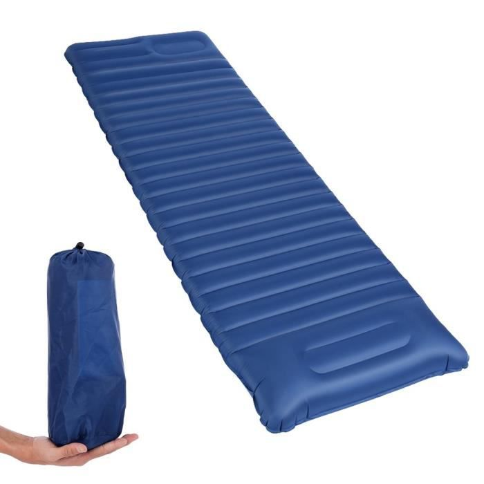 ultralig Gonflable Couchage Tapis avec interconnectés Oreiller Deeplee Tapis Camping