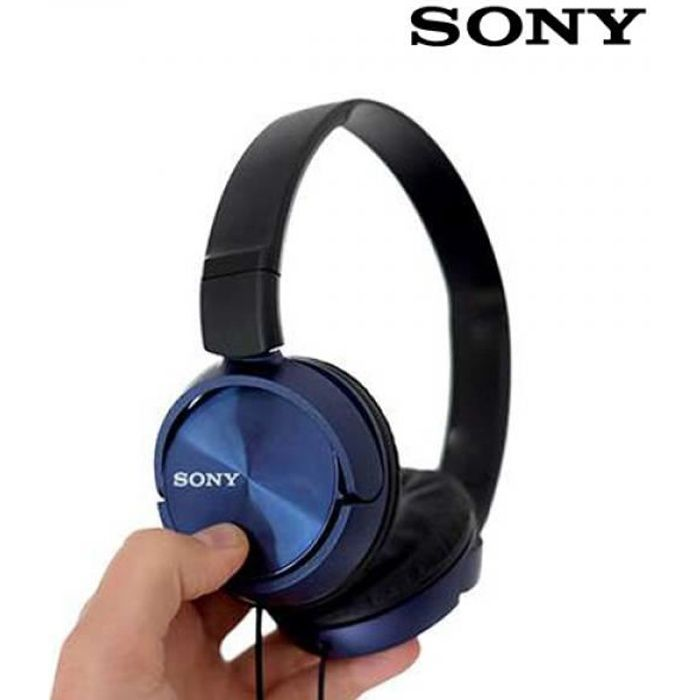 casque audio nomade sony mdrzx310 bleu casque couteur. Black Bedroom Furniture Sets. Home Design Ideas