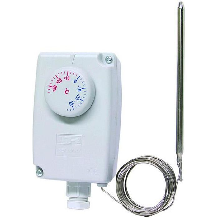 thermostat m canique hors gel bulbe achat vente
