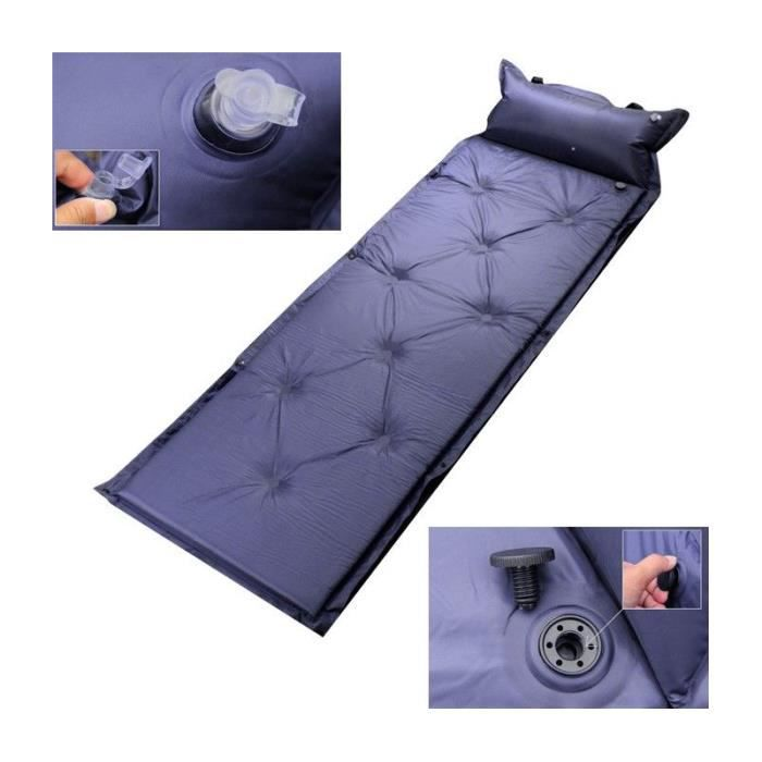 matelas auto gonflable randonn e camping lit de camp. Black Bedroom Furniture Sets. Home Design Ideas