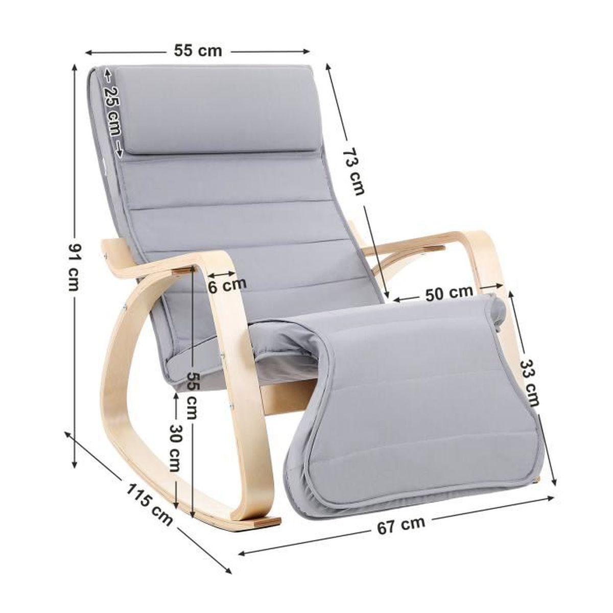 Hauck Metal Glider avec Tabouret et Fonction de Basculement Creme R/églable Pivotante Fauteuil d/'Allaitement et de Relaxation jusqu/'/à 120 kg Pochettes Lat/érales