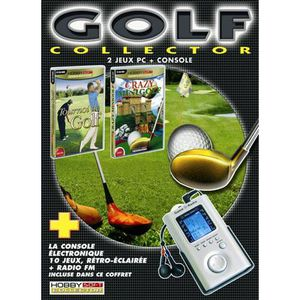 JEU PC GOLF COLLECTOR