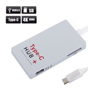 HUB Usb 3.1 Type c HUB Lecteur de carte U disque 4K HD