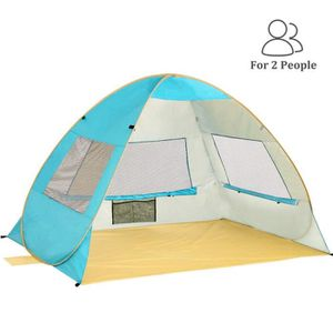 TENTE DE CAMPING Tente Pop Up de Plage Familiale Anti UV, Quechua 2