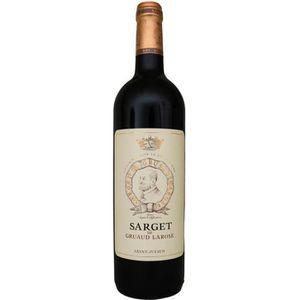 VIN ROUGE Sarget de Gruaud-Larose, 2ème vin de Château Gruau