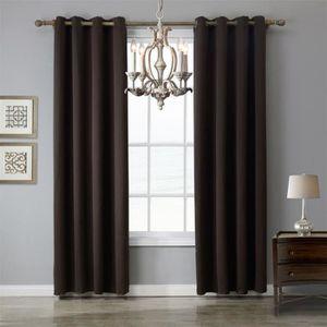 RIDEAU  1x rideau a oeillets - 140 x 160cm polyester - c2