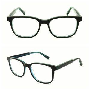 LUNETTES DE VUE Montures de lunettes classiques pour hommes rectan