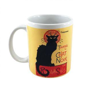 Sass /& Belle céramique chat noir avec oreilles Tasse Animal Nouveauté Thé Café