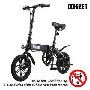 KIT VÉLO ÉLECTRIQUE Dohiker Vélo Electrique Pliable - Batterie 7,5Ah 2