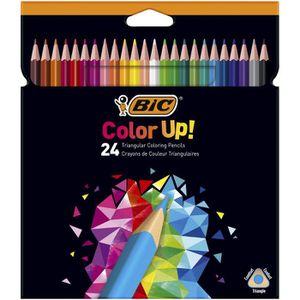 CRAYON DE COULEUR BIC Color Up Crayons de Couleur - Coloris Assortis