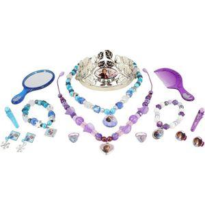 BIJOUX DÉGUISEMENT REINE DES NEIGES 2 - Coffret bijoux 15 pcs