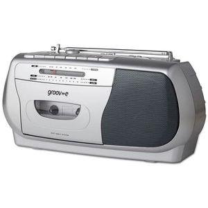 RADIO CD CASSETTE Groov-e GVPS575SR Enregistreur De Lecteur De Casse